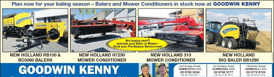 NEW HOLLAND HAYGEAR