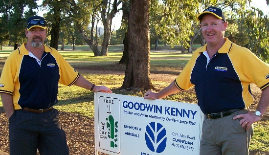 Gunnedah Golf Day Sponsored by Goodwin Kenny - Mark and Peter Kenny