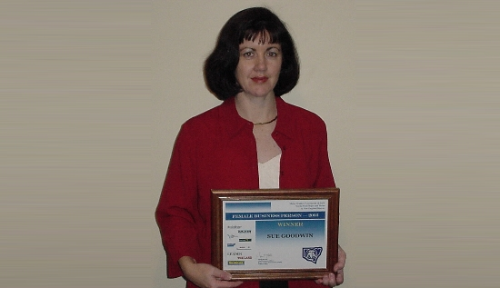 2003 MTA Businesswoman of the Year - Susan Goodwin
