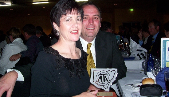 2004 MTA Regional Dealer of the Year - Susan and Peter Goodwin